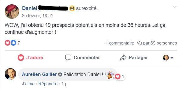 Avis de Daniel sur la formation MLM Attraction Formula